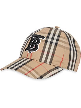 Burberry - Monogram Motif Vintage Check Baseball Cap - Women