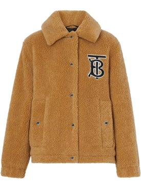 Burberry - Monogram Fleece Jacket Camel - Women