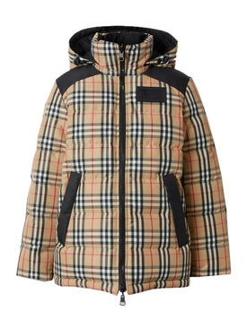 Burberry - Plaid Protective Puffer Jacket - Women