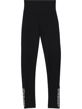 Burberry - Logo Detail Stretch Jersey Leggings - Women