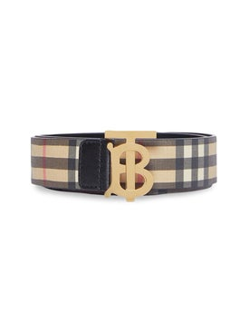 Burberry - Monogram Vintage Check Belt - Women