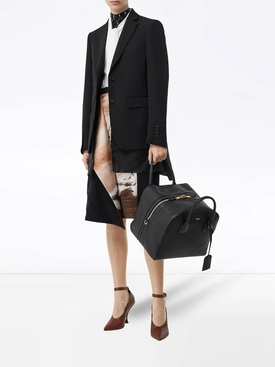 Medium Leather Cube Bag