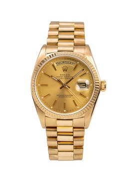 Rolex - Day Date 18k Yellow Gold - Men