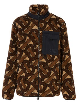 Burberry - Monogram Fleece Jacket - Men