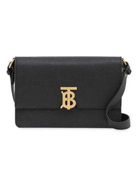 Burberry - Black Small Monogram Crossbody Bag - Women