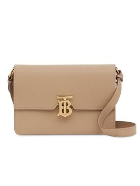 Small Monogram Motif Leather Crossbody Bag
