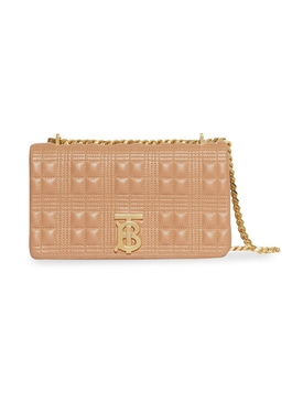 Beige quilted lola bag