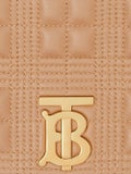 Burberry - Beige Quilted Lola Bag - Crossbody