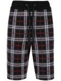 Burberry - Check Print Drawstring Shorts - Men