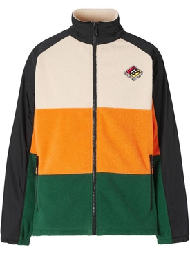 Multicolored panel jacket