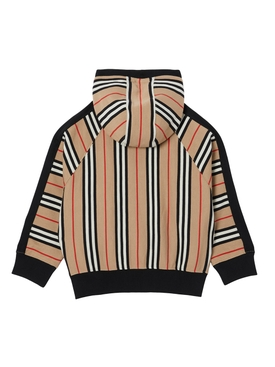 Kids Icon Stripe Hooded Jacket