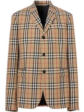 Iconic Check Blazer