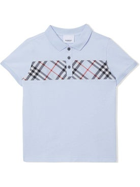 Burberry - Kids Light Blue Polo Shirt - Kids