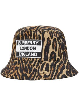 Burberry - Reversible Leopard Print Bucket Hat - Men