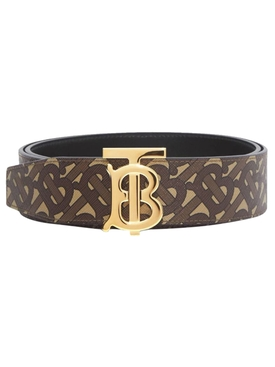 Reversible TB monogram belt