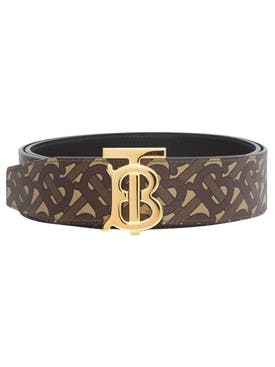Burberry - Reversible Tb Monogram Belt - Men
