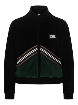 Velvet track jaket