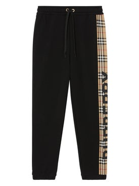 Burberry - Check Patch Sweatpants - Women