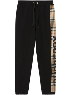 Checkered Panel Sweatpants