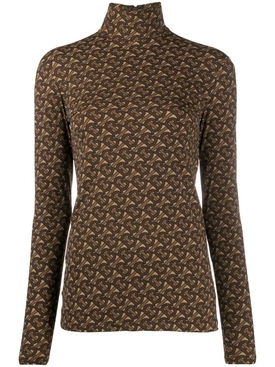 Trancura print turtleneck