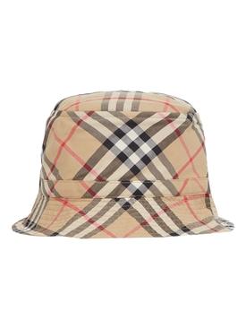 Kids Archive print bucket hat