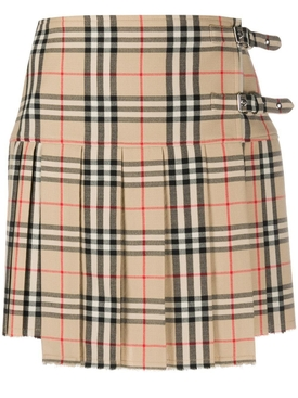 Classic Check Kilt Mini Skirt