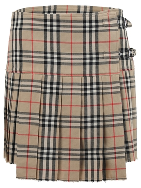 Iconic Check Wool Kilt