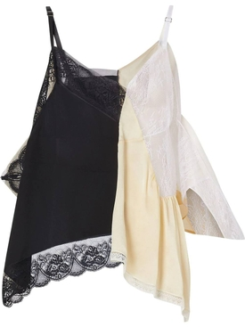 Deconstructed lace top