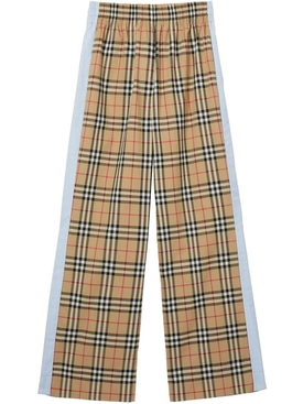 Burberry - Vintage Check Stretch Cotton Trousers - Women