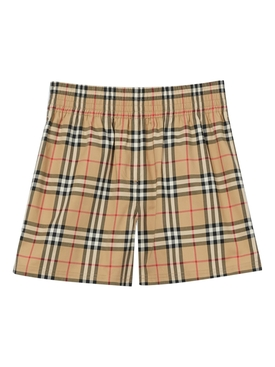 Iconic Check Print Shorts