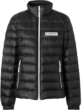 Lightweight Logo Detail Puffer Jacket
