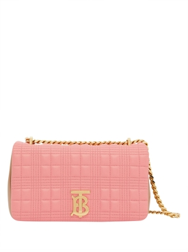 Small Quilted Two-tone Lola Bag
