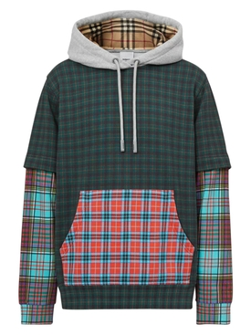 Plaid Hallows hoodie