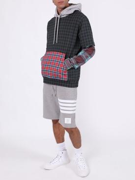 Plaid Hallows hoodie