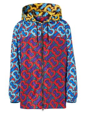 Multicolored Monogram Jacket