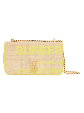 Small fluorescent yellow horseferry Lola bag