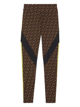 TB monogram print leggings