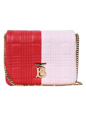 Small red and pink Lola bag