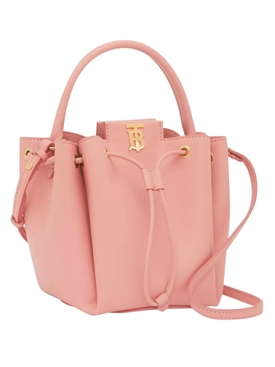 TB Bucket Bag, Peony Pink
