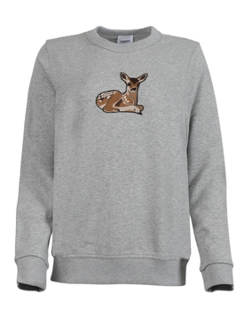 FAIRHALL DEER EMBROIDERED SWEATER