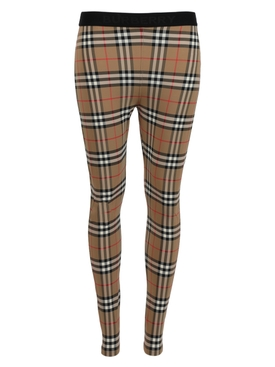 Archive beige check leggings