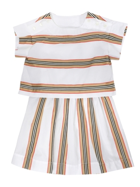 Kids Iconic Stripe Dress