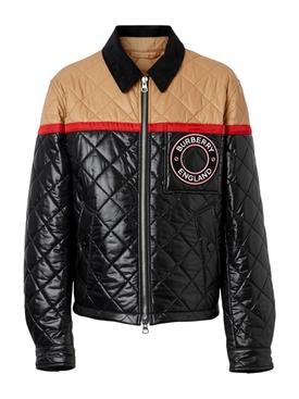 Color block Harrington jacket