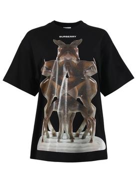 Kaleidoscope graphic logo t-shirt