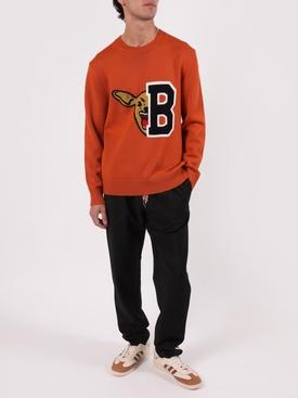 Black Wool-blend Jogger Pants
