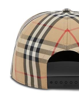 love print Vintage Check cap