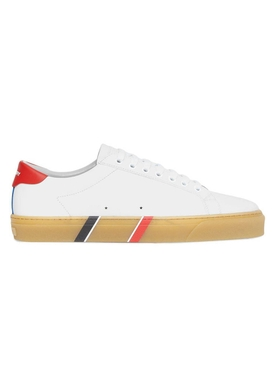 Bio-based sneakers, white and amber