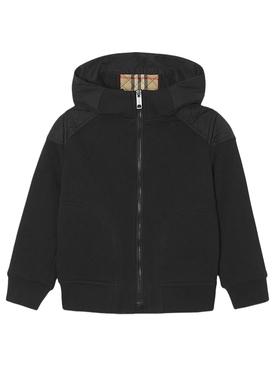 Kid's Hooded Jacket Black