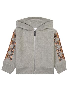 Kids bear zip hoodie