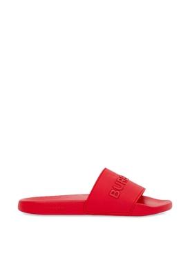 Slider Sandal Bright Red